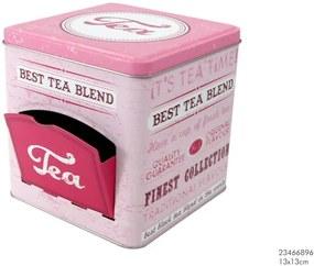 Tea box s dvierkami.