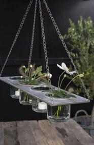 IB LAURSEN Závesný kovový držiak na vázičky/kvetináče