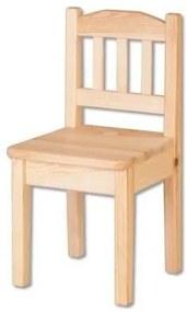 ČistéDrevo Drevená detská stolička