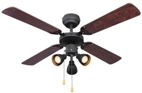 Globo 3357 - Stropný ventilátor HARVEY 3xGU10/50W/230V
