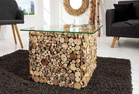 Konferenčný stolík Seeside 45cm/sklo