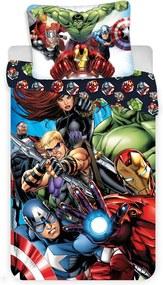 Detské obliečky Avengers  01 140x200 70x90 cm 100% Bavlna Jerry Fabrics