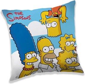 JERRY FABRICS Vankúšik Simpsons clouds Polyester 40/40 cm