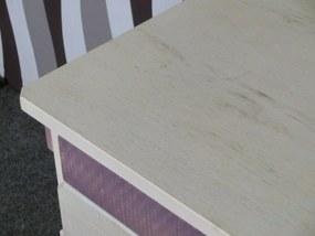 (1633) SAFARI - Detský písací stôl ružový