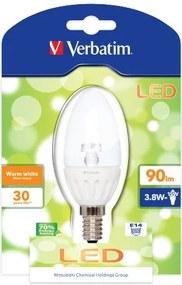 LED žiarovka Verbatim, Candle, E14 / 3,8W / 230V, 52140