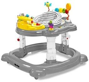 TOYZ Toyz HipHop Detské chodítko Toyz HipHop 3v1 sivé Sivá |