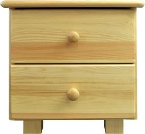 AMI nábytok noční stolek Katka borovice