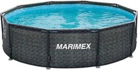Marimex | Bazén Florida 3,05 x 0,76 m bez filtrácie - motív RATAN | 10340234