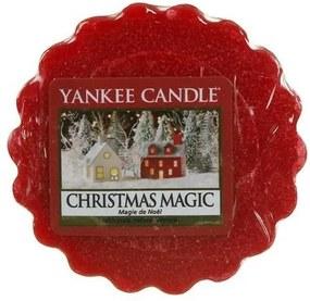 Vonný vosk Yankee Candle Vianočné čaro, 22 g