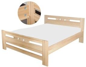 Lujza 100x200 buková posteľ Natural