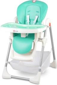 Detská jedálenská stolička LIONELO Linn Plus - mätová