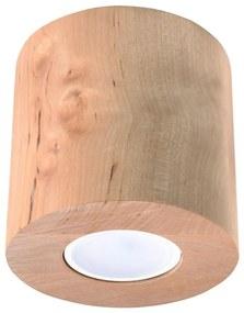 Sollux Stropné svietidlo ORBIS 1xGU10/40W/230V drevo SLX0280