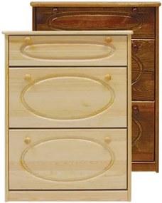 AMI nábytok skříňka na boty č.9 dub
