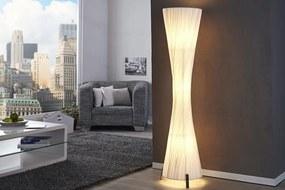 Stojanová lampa SPIRAL biela