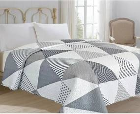 Jahu Prehoz na posteľ Triangel biela, 220 x 240 cm