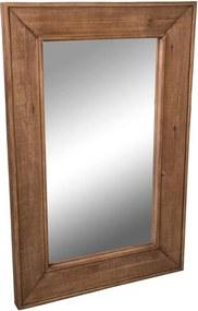 Zrkadlo s dreveným rámom Miroir