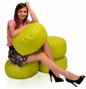 Lacný sedací vak Dola 35 x 20 cm - růžová - 26D