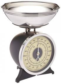 Kitchen Craft Mechanická kuchynská váha Black - 2 kg