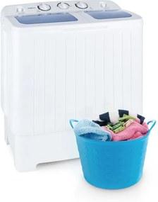 oneConcept Ecowash XL, práčka 4,2 kg, žmýkanie 3 kg