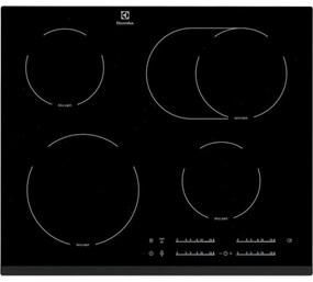 Sklokeramická varná doska Electrolux čierna EHF65451FK