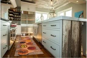 Vysokoodolný kuchynský koberec Webtappeti Spices Market, 60 × 115 cm
