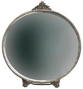 Posh zrkadlo okrúhle mosadz