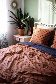 Obliečky Essenza Home Turn Over hnedá