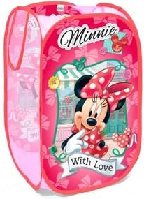 Seven Kôš na hračky Minnie Mouse Polyester 36x36x58 cm