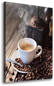Foto obraz na plátne Hrnček kávy pl-oc-70x100-f-106171925