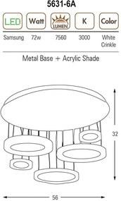 Ozcan OZ 5631-6A crinkle