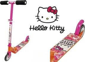 Hello Kitty detská kolobežka - skladací