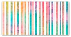 Foto obraz akrylové sklo Dúhové pásky pl-oa-140x70-f-61837833