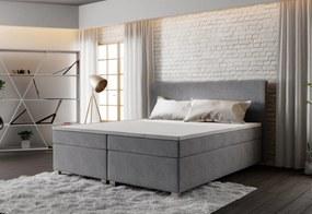 Čalúnená posteľ ISLAND + rošt + matrac, 160x200, Cosmic 160