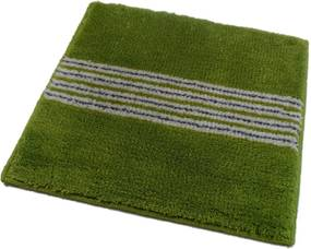 ROUTNER Kúpeľňová predložka IRSINA Zelená 10502 - Zelená / 50 x 50 cm 10502