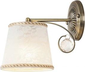 Rábalux Valerie 7290 Nástenné Lampy bronz biely E14 1X MAX 40W 25 x 23 x 16,5 cm