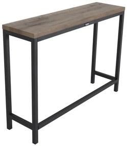 Rise konzolový stolík teak