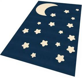 Zala Living - Hanse Home koberce Kusový koberec Bambini 103061 Dunkelblau 140x200 cm - 140x200 cm