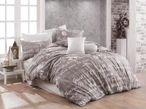 Petr Smolka Bavlnené obliečky Boathouse sivé Rozmer obliečok: 70x90 cm, 140x220 cm