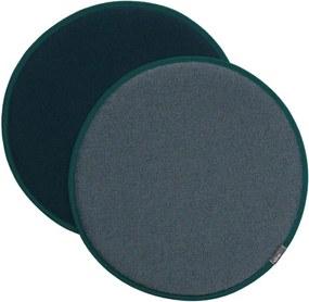 Vitra Sedák na stoličku Seat Dot, ice blue-nero