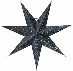 Watt & VEKE Závesná svietiaca hviezda Isadora Blue 60 cm