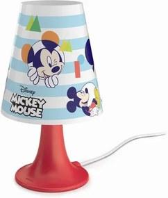 Philips 71795/30/16 Disney Mickey Mouse, stolná LED lampa, 2,3W 220lm 2700K