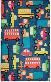 Detský koberec Cars, 100 × 160 cm