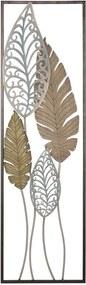Kovová nástenná dekorácia Mauro Ferretti Foglie II