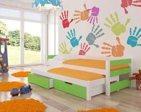 Štýlová detská rozkladacia posteľ Lily