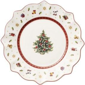 Biely dezertný tanier 24 cm Toy's Delight