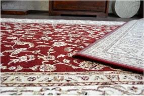 Luxusný kusový koberec akryl Honor bordó, Velikosti 100x200cm