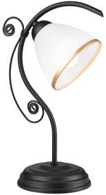 Lamkur Stolná lampa RETRO II 1xE27/60W/230V čierna LA39855