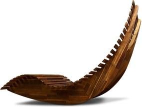Jurhan & Co.KG Germany Ergonomické húpacie lehátko do sauny z agátového dreva VALTER JR29