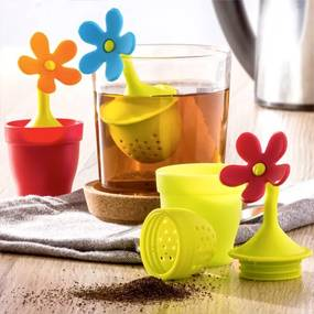 Čajové sítko Kvet