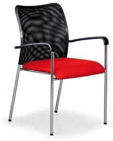 Antares Konferenčná stolička John Minelli, červená